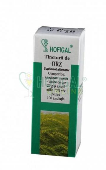 Tinctura de orz - 50 ml